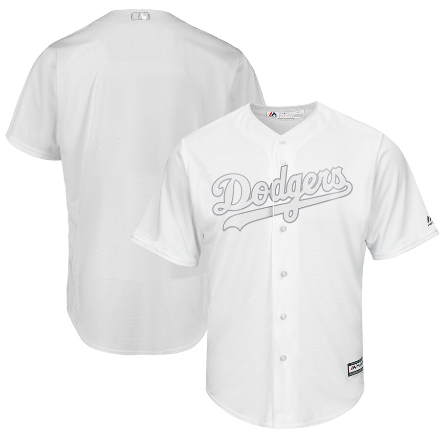 Men's Los Angeles Dodgers Majestic White 2019 Players' Weekend Replica Team Stitched MLB Jersey