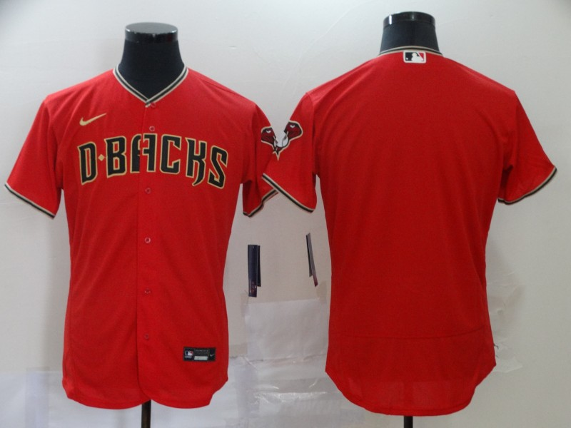 Men's Arizona Diamondbacks Red Flex Base Stitched MLB Jersey