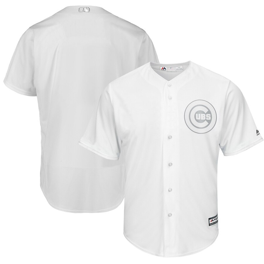 Men's Chicago Cubs Majestic White 2019 Players' Weekend Replica Team Stitched MLB Jersey