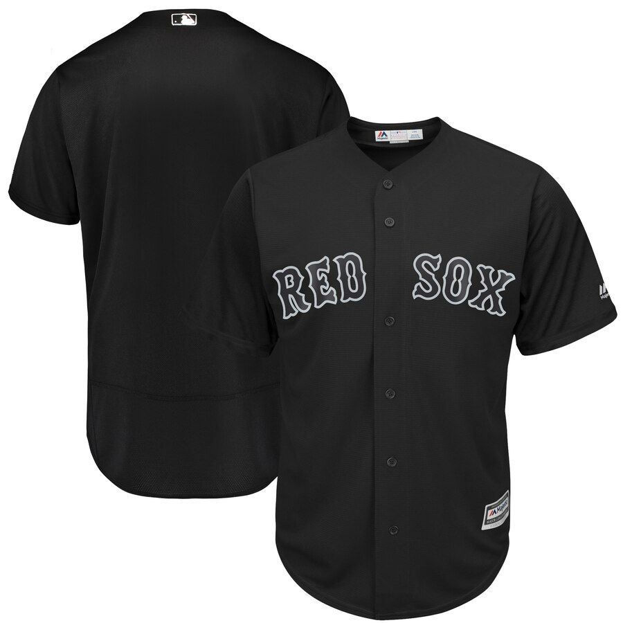Men's Boston Red Sox Majestic Black 2019 Players' Weekend Replica Team Stitched MLB Jersey