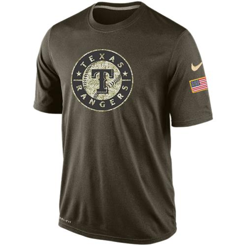 Men's Texas Rangers Salute To Service Nike Dri-FIT T-Shirt