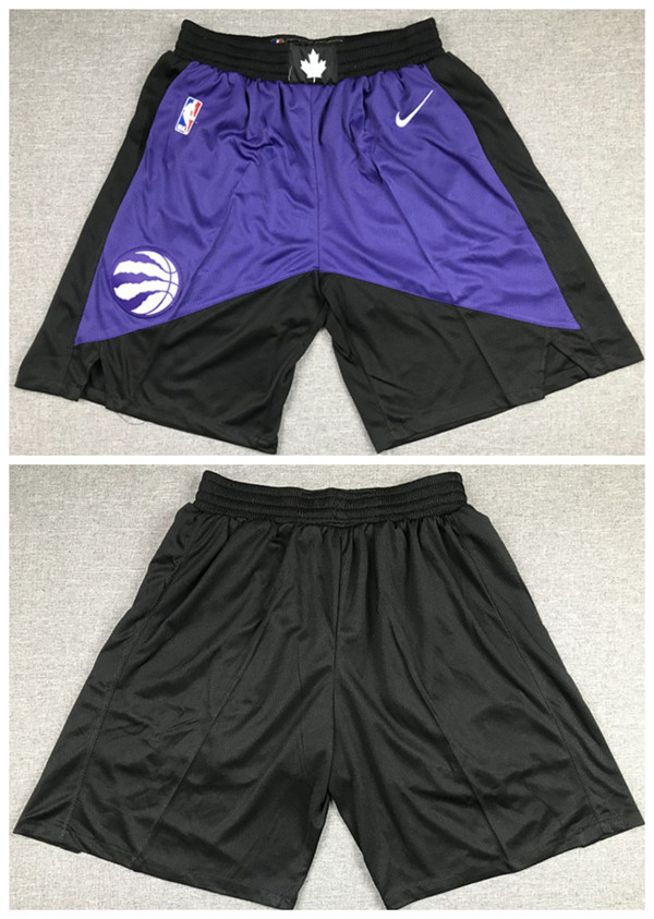 Men's Toronto Raptors Purple Shorts (Run Small)