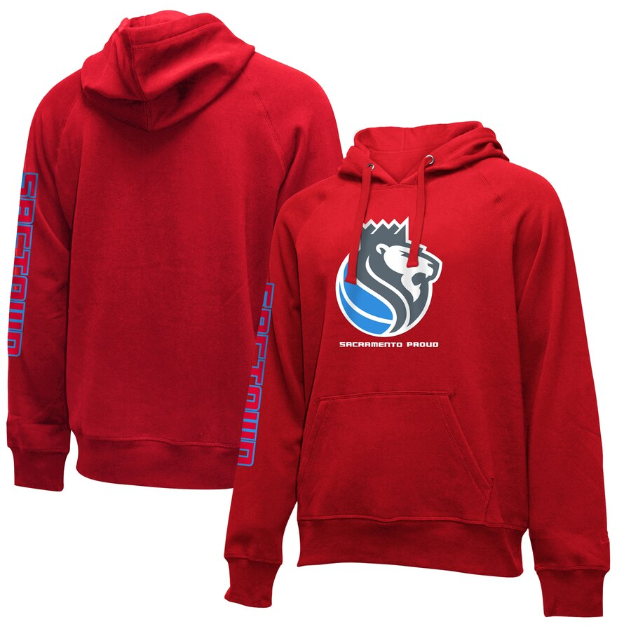 Men's Sacramento Kings Red City Edition Club Pullover Hoodie