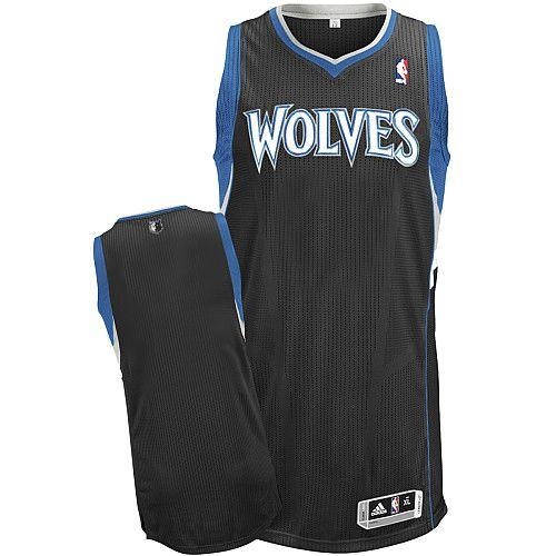 Revolution 30 Timberwolves Blank Black Stitched NBA Jersey