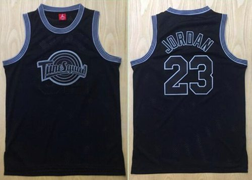 Space Jam Tune Squad #23 Michael Jordan Black Stitched Basketball Jersey