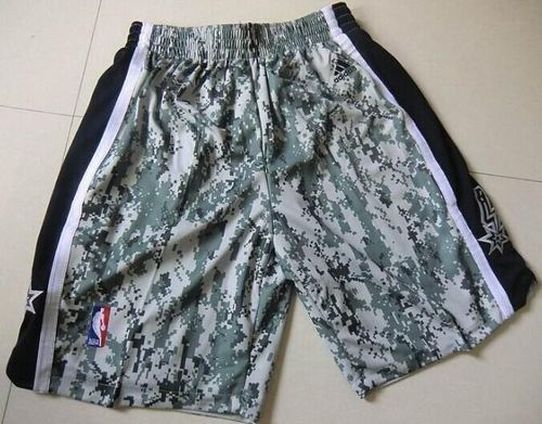 San Antonio Spurs Camo NBA Shorts