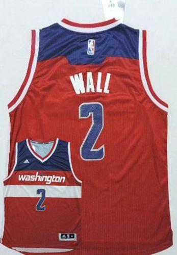 Wizards #2 John Wall New Red Road Stitched NBA Jersey