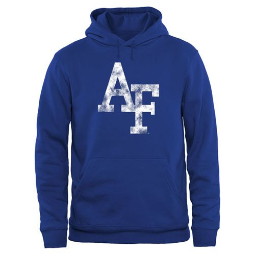 Air Force Falcons Big & Tall Classic Primary Pullover Hoodie Royal