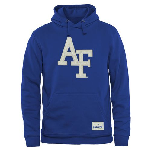 Air Force Falcons Gameday Pullover Hoodie Royal