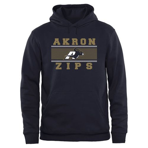 Akron Zips Big & Tall Micro Mesh Sweatshirt Navy