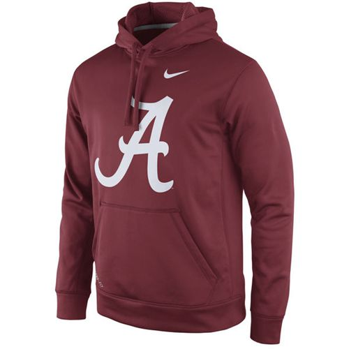 Alabama Crimson Tide Nike Practice Performance Hoodie Crimson