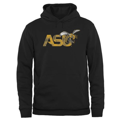 Alabama State Hornets Big & Tall Classic Primary Pullover Hoodie Black