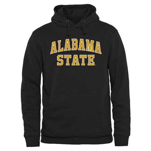 Alabama State Hornets Everyday Pullover Hoodie Black
