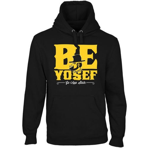 Appalachian State Mountaineers Be Yosef Pullover Hoodie Black