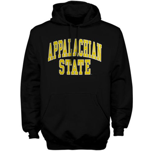 Appalachian State Mountaineers Bold Arch Hoodie Black