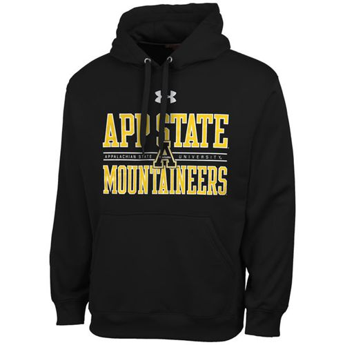 Appalachian State Mountaineers Under Armour Performance Hoodie Black