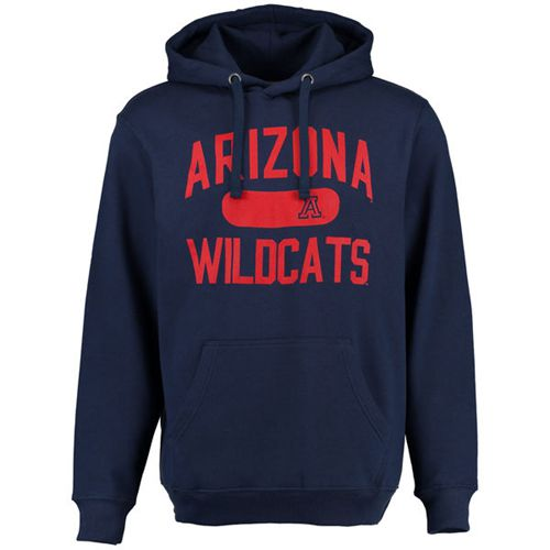 Arizona Wildcats Athletic Issued Pullover Hoodie Navy