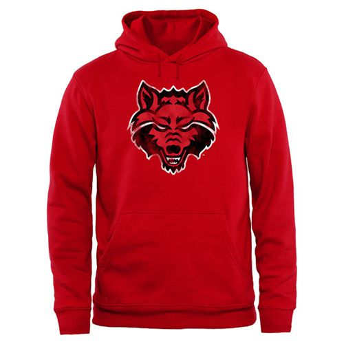 Arkansas State Red Wolves Big & Tall Classic Primary Pullover Hoodie Red