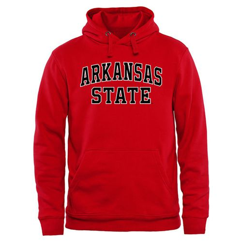 Arkansas State Red Wolves Everyday Pullover Hoodie Red