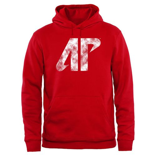 Austin Peay State Governors Big & Tall Classic Primary Pullover Hoodie Red