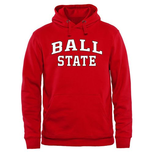 Ball State Cardinals Everyday Pullover Hoodie Red