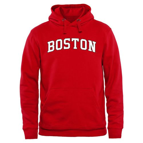 Boston University Everyday Pullover Hoodie Red