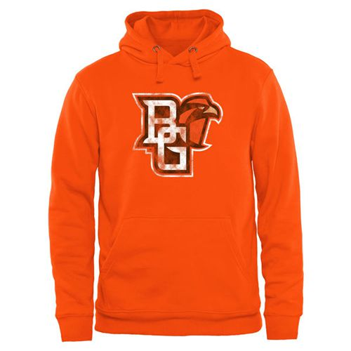 Bowling Green St. Falcons Classic Primary Pullover Hoodie Orange