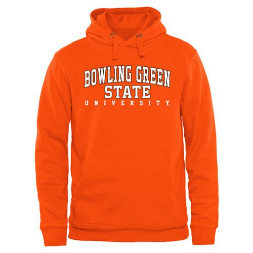Bowling Green St. Falcons Everyday Pullover Hoodie Orange