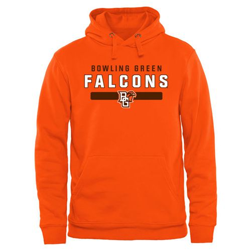 Bowling Green St. Falcons Team Strong Pullover Hoodie Orange