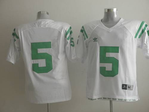 Fighting Irish #5 Everett Golson White Under The Lights Stitched NCAA Jersey