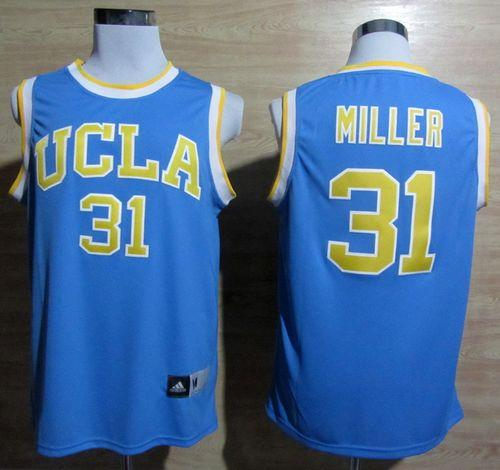 Bruins #31 Reggie Miller Blue Basketball Stitched NCAA Jersey