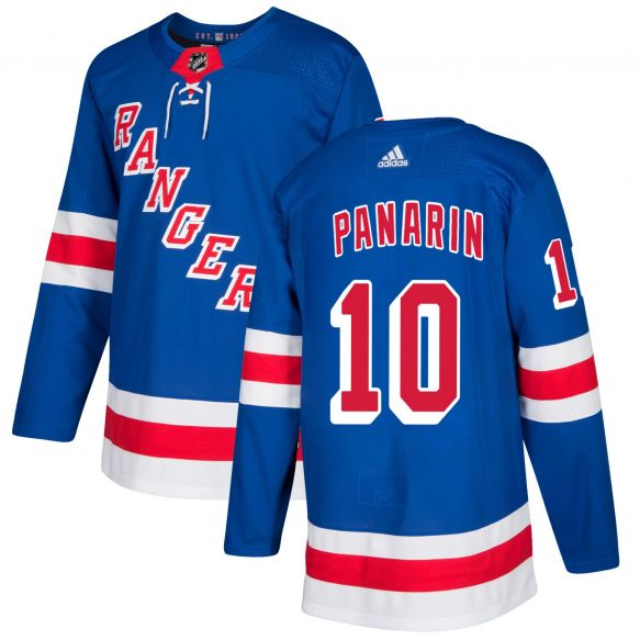 Men's New York Rangers #10 Artemi Panarin Blue Breakaway Stitched NHL Jersey