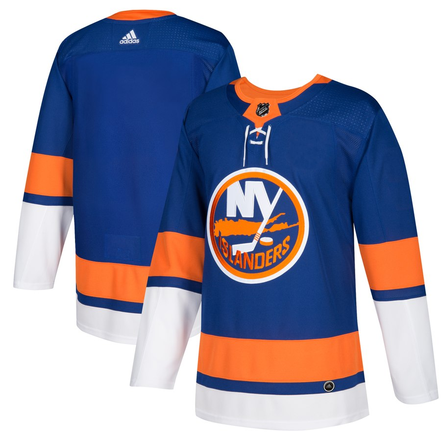 Men's Adidas New York Islanders Royal Stitched NHL Jersey