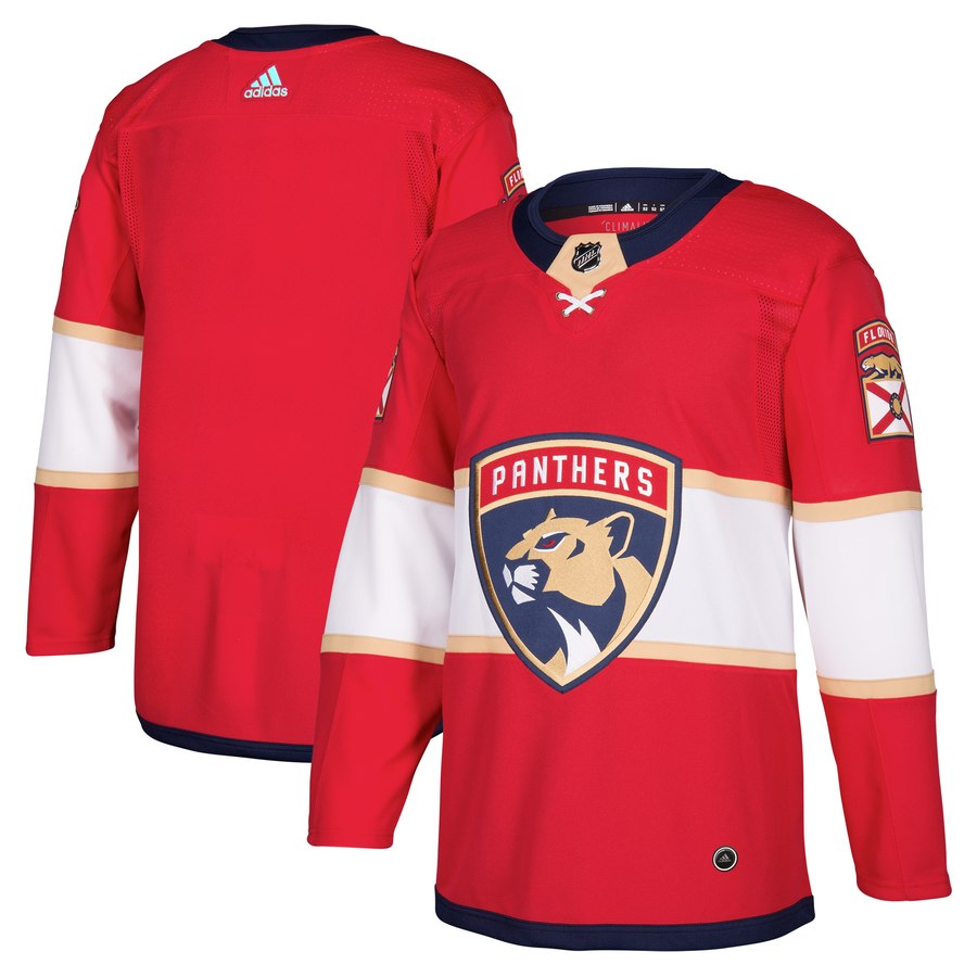 Men's Adidas Florida Panthers Red Stitched NHL Jersey