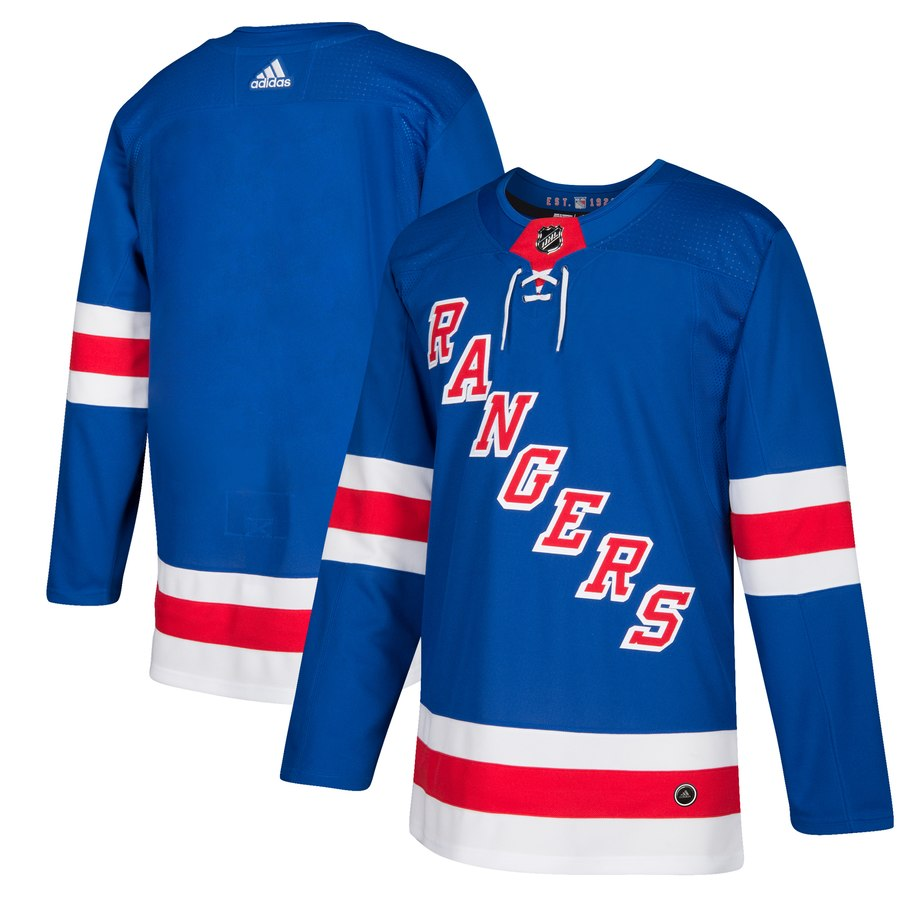 Men's Adidas New York Rangers Royal Blue Stitched NHL Jersey