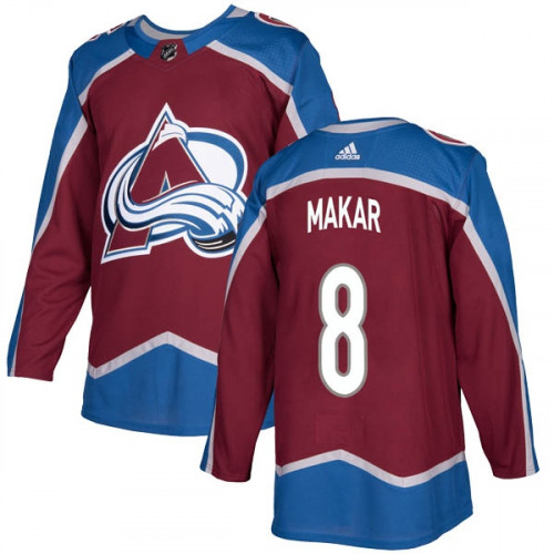 Men's Colorado Avalanche #8 Cale Makar Red Stitched NHL Jersey