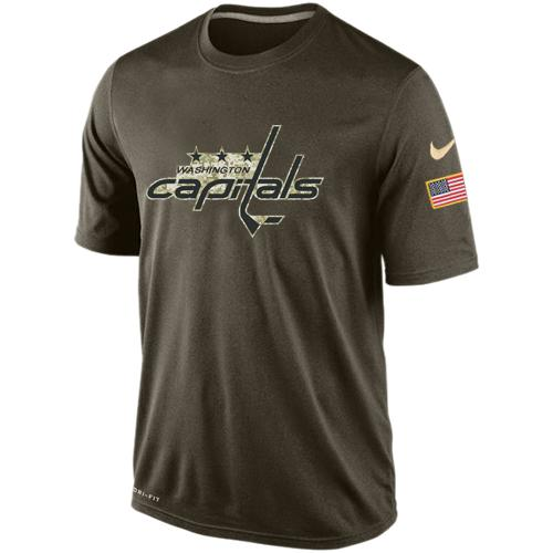 Men's Washington Capitals Salute To Service Nike Dri-FIT T-Shirt