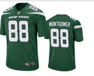 Men's New York Jets #88 Ty Montgomery Green Vapor Untouchable Limited Stitched NFL Jersey