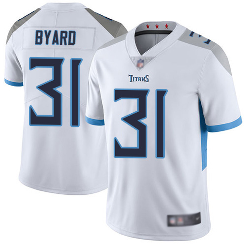 Men's NFL Tennessee Titans #31 Kevin Byard White New 2018 Vapor Untouchable Limited Stitched Jersey