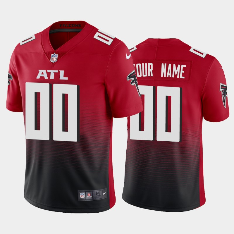 Men's Atlanta Falcons New Red ACTIVE PLAYER Vapor Untouchable Limited Stitched NFL Jersey