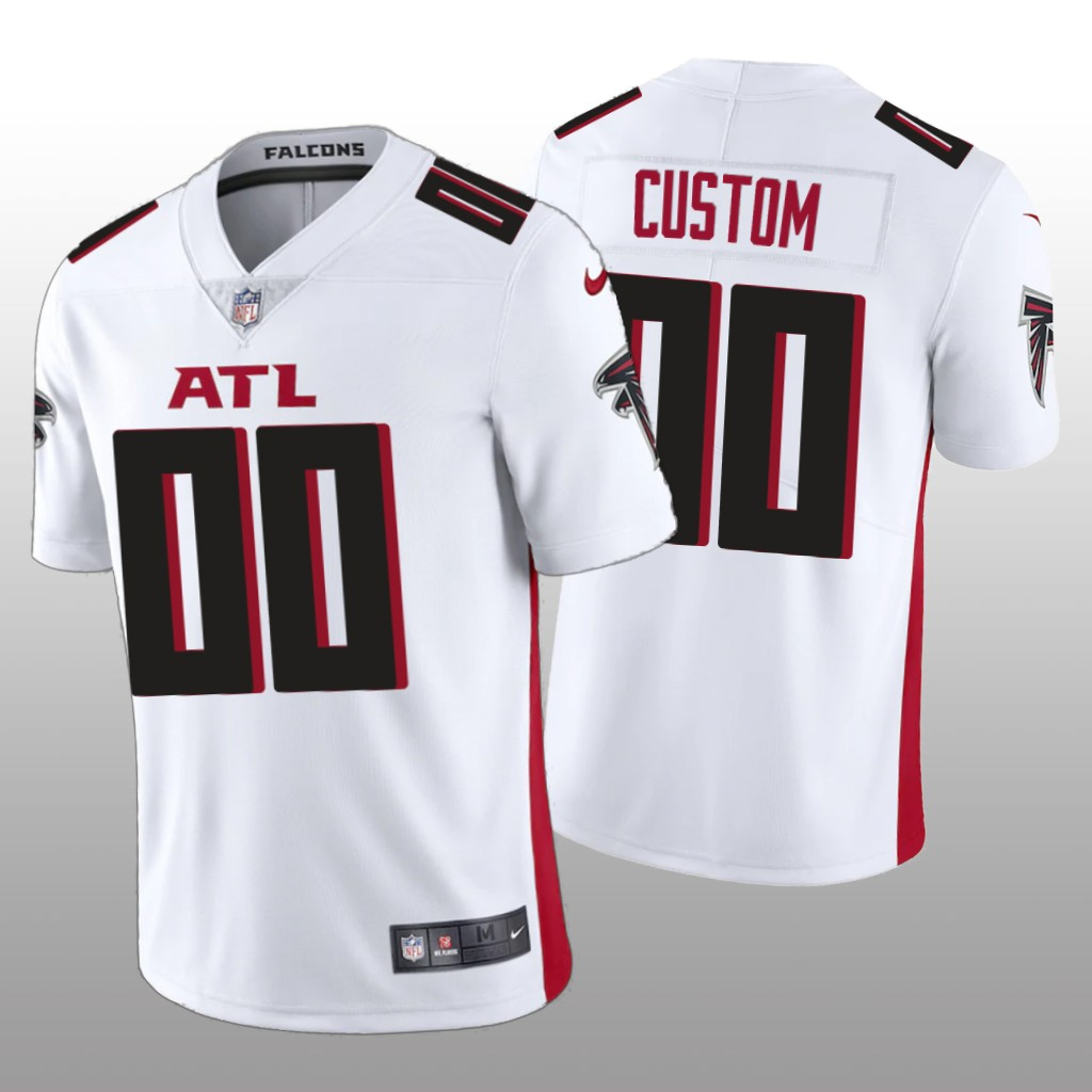 Men's Atlanta Falcons New White ACTIVE PLAYER Vapor Untouchable Limited Stitched NFL Jersey