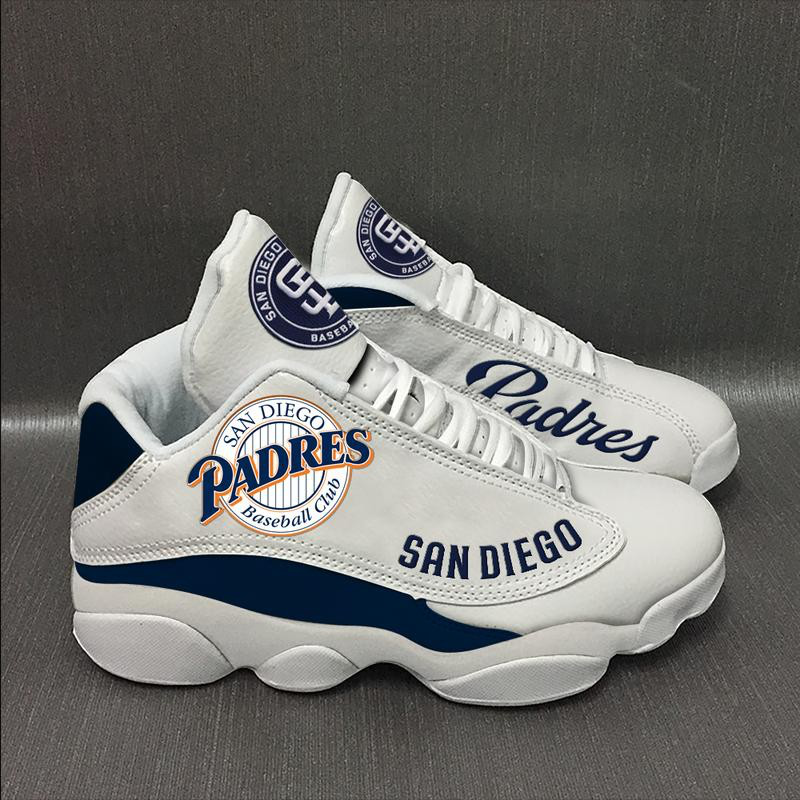 Women's San Diego Padres Limited Edition JD13 Sneakers 002