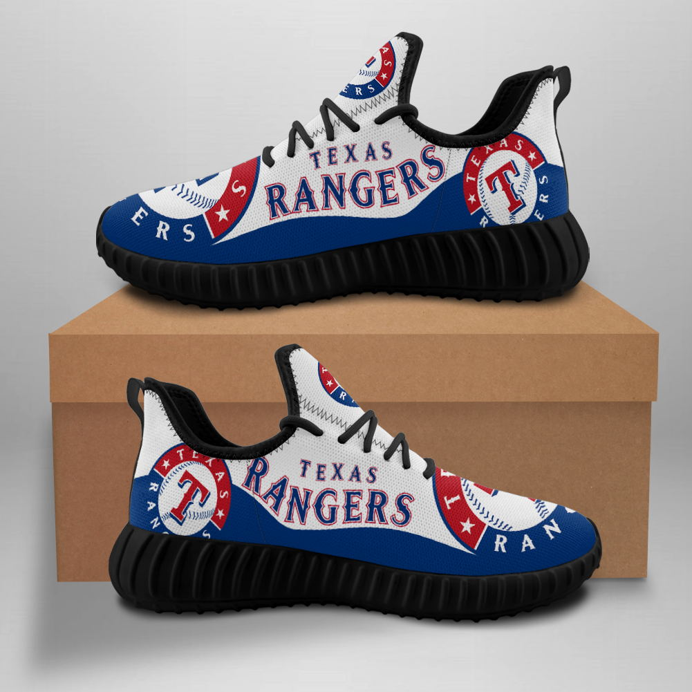 Women's MLB Texas Rangers Mesh Knit Sneakers/Shoes 002