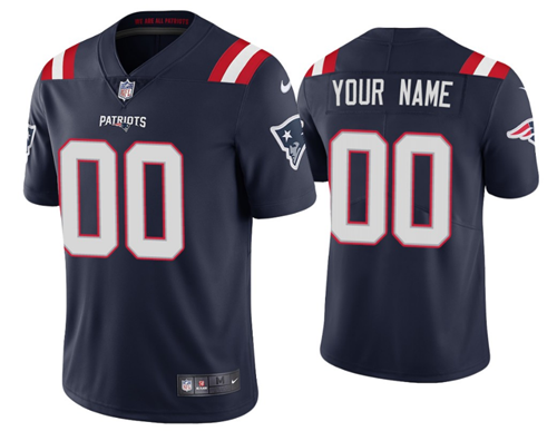 Men's New England Patriots New Navy ACTIVE PLAYER Vapor Untouchable Limited Stitched NFL Jersey