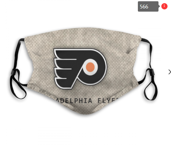 Philadelphia Flyers Face Mask 006 Filter Pm2.5 (Pls check description for details)