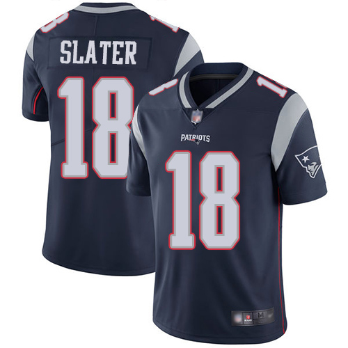 Men's New England Patriots #18 Matthew Slater Navy Color Rush Limited Stitched NFL Jersey