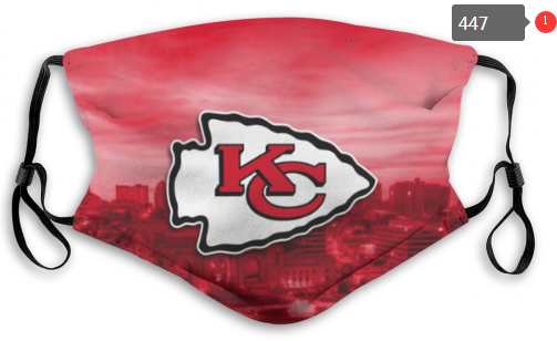Chiefs Face Mask 004 Filter Pm2.5 (Pls check description for details)