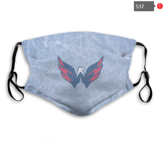 Washington Capitals Face Mask 001 Filter Pm2.5 (Pls check description for details)