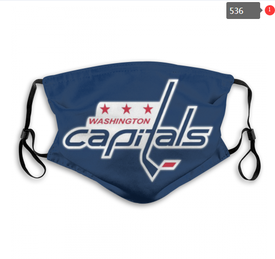 Washington Capitals Face Mask 002 Filter Pm2.5 (Pls check description for details)