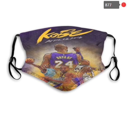 Los Angeles Lakers Face Mask 877 (Pls check description for detailed info)